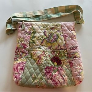 April Cornell Quilted Floral Bag